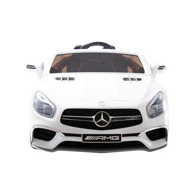 Elektrische Kinderauto Mercedes-Benz SL65 AMG Wit 12V Met Afstandsbediening