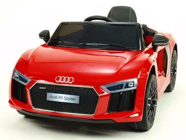 Elektrische Kinderauto Audi R8 Spyder Rood 12V Met Afstandsbediening