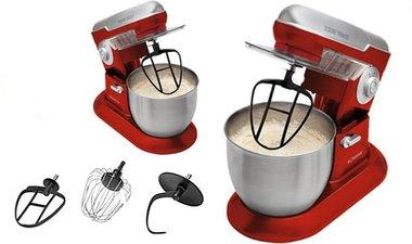 Masterkitchen Professionele - Keukenmachine - Rood