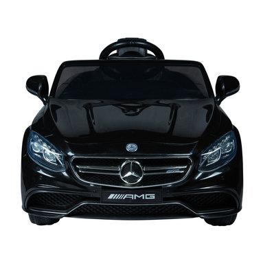 Elektrische Kinderauto Mercedes Benz S63 AMG Zwart 12V Met Afstandsbediening