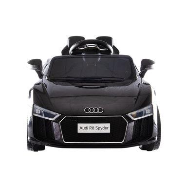 Elektrische Kinderauto Audi R8 Zwart 12V Met Afstandsbediening