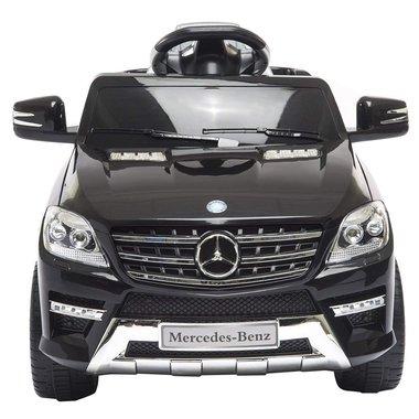 Elektrische Kinderauto Mercedes-Benz ML350 Zwart 6V Met Afstandsbediening