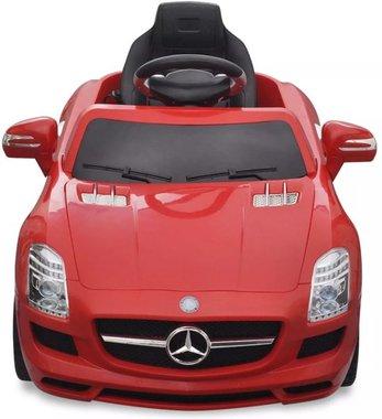 Elektrische Kinderauto Mercedes-Benz SLS AMG Rood 6V Met Afstandsbediening
