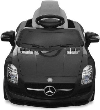 Elektrische Kinderauto Mercedes-Benz SLS AMG Zwart 6V Met Afstandsbediening