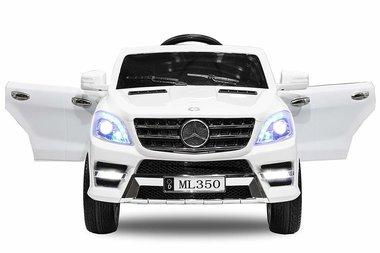Elektrische Kinderauto Mercedes Benz ML350 Wit 12V Met Afstandsbediening