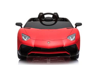 Elektrische Kinderauto Lamborghini Aventador SV Rood 12V Met Afstandsbediening