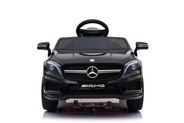 Elektrische Kinderauto Mercedes-Benz GLA45 AMG Zwart 12V Met Afstandsbediening
