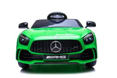 Elektrische Kinderauto Mercedes-Benz GTR AMG Groen 12V Met Afstandsbediening FULL OPTIONS