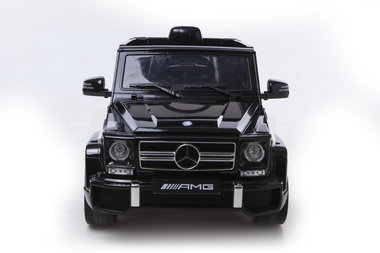 Elektrische Kinderauto Mercedes-Benz G63 AMG Zwart 12V Met Afstandsbediening FULL OPTION