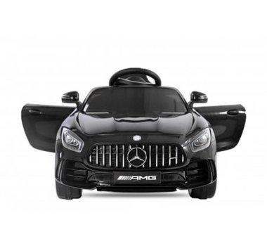 Elektrische Kinderauto Mercedes-Benz GTR AMG Zwart 12V Met Afstandsbediening FULL OPTIONS
