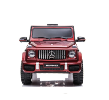 Elektrische Kinderauto Mercedes-Benz G63 AMG Rood 12V Met Afstandsbediening FULL OPTION