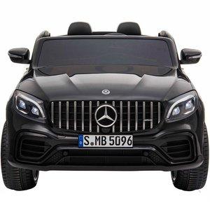 Elektrische Kinderauto Mercedes Benz GLC 63 S Zwart 2 Persoons 12V Met Afstandsbediening FULL OPTIONS