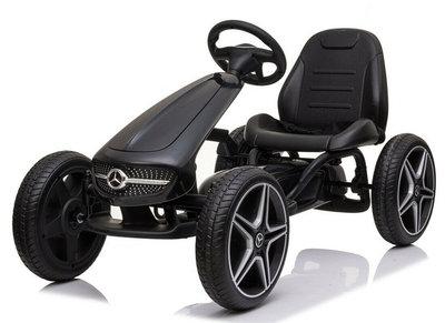Mercedes-Benz Go Kart Skelter - Zwart