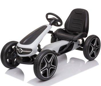 Mercedes-Benz Go Kart Skelter - Wit