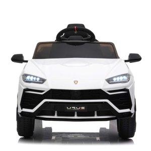 Elektrische Kinderauto Lamborghini Urus Wit 12V Met Afstandsbediening