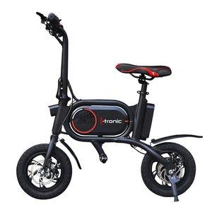 I-tronic Z01 Elektrische Vouwfiets E-bike - Zwart