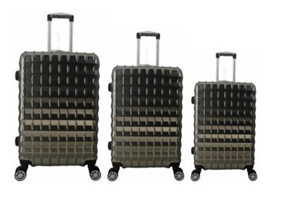 UltraTravel 3-delige reiskofferset - polycarbonaat - 360 graden draaiwielen - Grijs