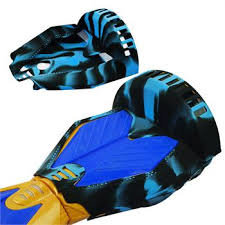 Beschermhoes Hoverboard 8,5 inch - Camouflage blauw / zwart