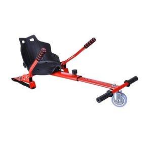 Hoverkart – Hoverseat voor Hoverboard – Rood met Zwart