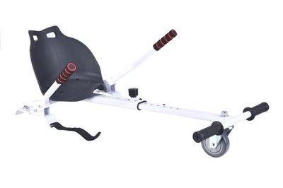 Hoverkart – Hoverseat voor Hoverboard – Wit met Zwart