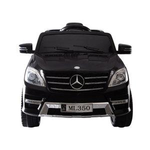 Elektrische Kinderauto Mercedes Benz ML350 Zwart 12V Met Afstandsbediening