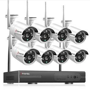 Draadloze beveiligingscamera set met 8 camera NVR Kit