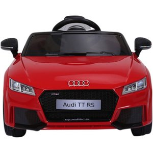 Elektrische Kinderauto Audi TT RS Rood 12V Met Afstandsbediening