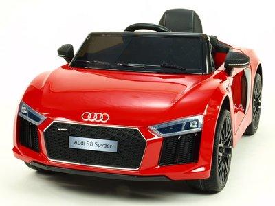 Beste Elektrische Kinderauto Audi R8 Spyder Rood 12V Met HB-01