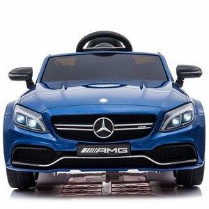 Verbazingwekkend Elektrische Kinderauto Mercedes-Benz C63 AMG Blauw 12V Met KI-15
