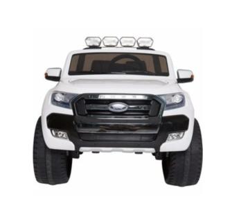 Elektrische Kinderauto Ford Ranger F650 4x4 Wit 2 persoons 24V MP4 Scherm Met Afstandsbediening FULL OPTION
